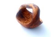 Malý košík z olivového dreva 17cm
