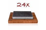 Sestava pro grillování na grilovacím kameni - Set 24 x model S