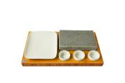 Grilovací kameň - lávový set model L